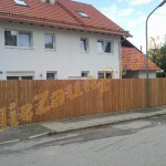Sichtschutzzaun Lärchenholz